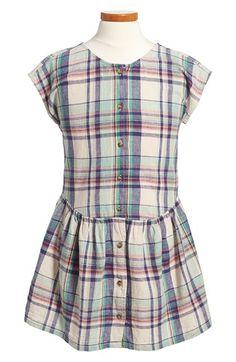 Tea Collection 'Daniela' Plaid Drop Waist Dress (Toddler Girls, Little Girls & Big Girls) available at #Nordstrom