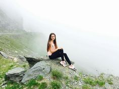 I love to travel 💟  Beautiful country, awesome view,  head on the clouds😍 #Romania