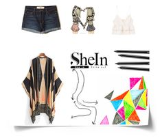 """Shein contest"" by modern-family ❤ liked on Polyvore featuring Hollister Co. and MANGO"