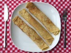 Vegan pannenkoeken met kikkererewtenmeel