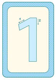 Passend zur Buchstaben-Kartei gibt es heute als Ergänzung die Zahlen-Schreibkartei. zum Material Und der passende Aushang/...