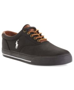 Polo Ralph Lauren Shoes, Vaughn Nylon Sneakers - Mens Fashion Sneakers - Macy's