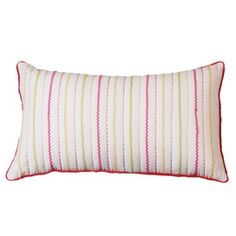 Zig Zag Ribbon Pillow - for back of A's pillow