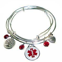 Medical Id Bracelets And Jewelry Custom Engraved For Men Women Children Pee Stainless Alert Bracelet Supernatural Style