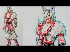 How to draw Skin Spirited Overseers || Garena Free Fire || Vẽ trang phục Lục Thiên Hồ - YouTube Princess Zelda, Fictional Characters, Art, Art Background, Kunst, Fantasy Characters, Art Education