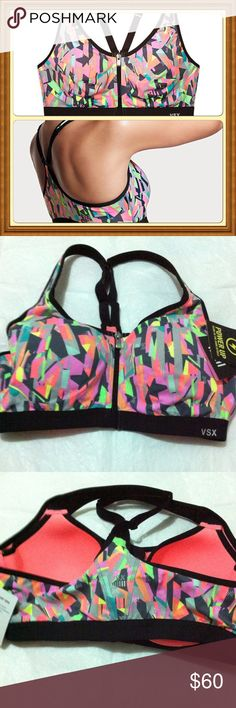 NWT 36B Victoria's Secret VSX knockout sport bracelet Max support sport bra Victoria's Secret Intimates & Sleepwear Bras