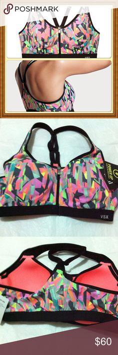 NWT 36B Victoria's Secret VSX knockout sport bracelet Max support sport bra Victoria's Secret Intimates & Sleepwear Bras