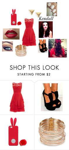 """""""Kendall's Christmas Outfit Chapter 10"""" by lyric-denali ❤ liked on Polyvore featuring Coast, Carolina Bucci and Essie"""