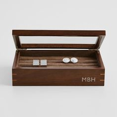 Wood Cufflink Case From RedEnvelope Lawyer Gifts For Husband