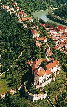 Burghausen Castle Its the longest Castle in Germany Europe. You walk along about 1000 meters until you reach the main building. Places Around The World, The Places Youll Go, Great Places, Places To See, Around The Worlds, Visit Germany, Germany Europe, Germany Travel, Bavaria Germany