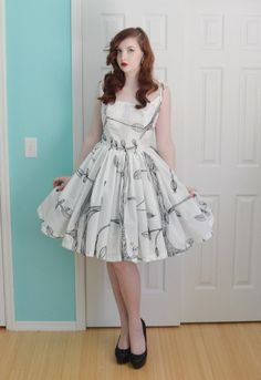 Making a Dress out of Ikea Curtains