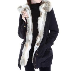 Fur Lined Parka