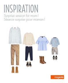 FAMILY PHOTO SESSION - Dad and kids outfits // SÉANCE PHOTO FAMILLE - Vêtements pour papa et enfants