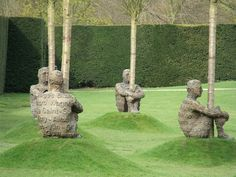 Jaume Plensa - Heart of Trees at the Yorkshire Sculpture Park