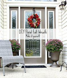 DIY Fall Wreath Tutorial- Fall Decor