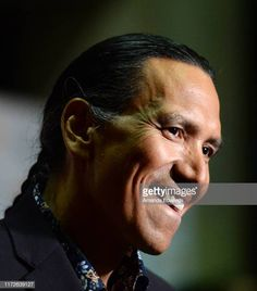 Actor Michael Greyeyes arrives at the 2019 Toronto International Film Festival Blood Quantum Premiere at the Ryerson Theatre on September 05 2019 in.