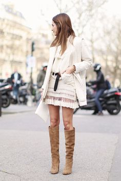 Look of the Day.421: Outside Isabel Marant (via Bloglovin.com )