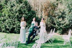 Greenery, Aiola Weddings im Schloss St. Veit Graz, Austria, (Styled Wedding Shooting 2017 Fotos: Blumen: Torte: Schmuck: Papeterie: Make-Up: Hairstyling: Graz Austria, With Love, Wedding 2017, Greenery, Gold, Weddings, Wedding Dresses, Unique, Makeup