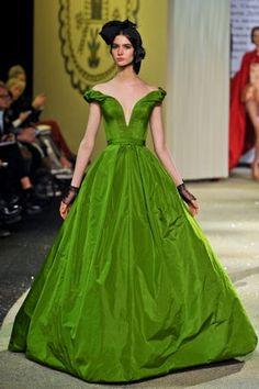 Défilé Ulyana Sergeenko haute couture printemps-été 2013