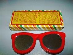 1983 UNUSED Vintage AVON LIPSHADES  Lip Gloss Red SUNGLASSES Compact New 80s