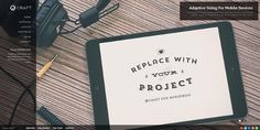 Gridcraft WP: Full Screen Grid + Slider Portfolio by Themes Awards, via Behance Inspiration Boards, Sliders, Wordpress Theme, Letter Board, Grid, Cards Against Humanity, Projects, Blog, Layouts