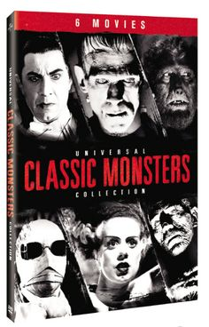 This compilation features six classic horror movies that star creatures such as…