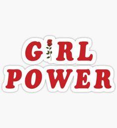 GIRL POWER Pegatina
