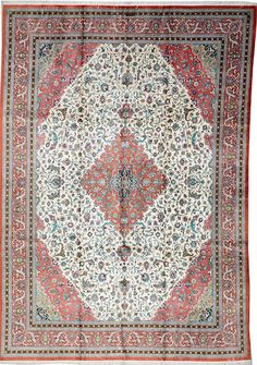 Silk Qum carpet  Central Persia  Contemporary  size approximately 8ft 1in. x 11ft. 7in.