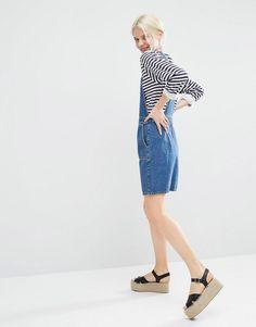 Immagine 4 di Monki - Vestito di jeans