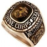 Gold Marine Corps - Custom made USMC rings are available in white and yellow gold. All Marine Corps Rings can be personalized with your rank, name and dates. Real savings at Military Online Shopping Marine Corps Rings, Us Marine Corps, Marine Mom, Us Marines, Women Marines, Us Navy, Usmc Ring, Affordable Rings, Military Gifts