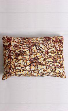 Bird of the Savannah Hand-Sewn Pillow