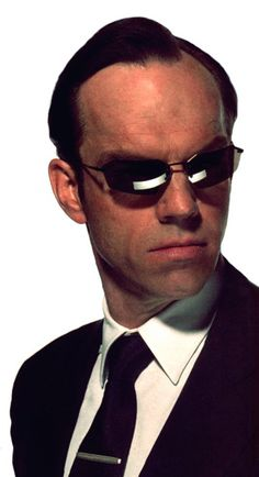 Agent Smith in the Matrix (Hugo Weaving)