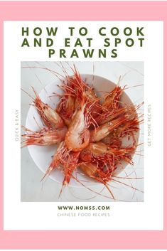 Recipes With Soy Sauce, Dip Recipes, Quick Recipes, Quick Easy Meals, Seafood Dishes, Fish And Seafood, Seafood Recipes, Spot Prawns, Cupcakes