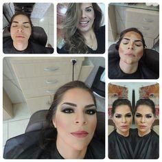 Projeção de look assinado por Del Alvares para mais uma das queridas frequentadoras do seu Beauty Club...