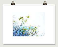 Blue Tree Pop Art 2 Clouds photograph by SmokestackPhotomat, $10.00