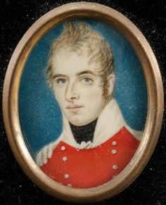 3 BRITISH MILITARY MINIATURE PORTRAITS - 4