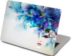 macbook decal girl apple macbook pro keyboard by creativedecalskin, $19.99