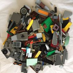 LEGO 1 KG ASSORTMENT OF BRICKS PARTS AND PIECES (LEGO #2)  | eBay