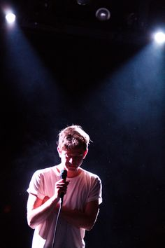 Perfume Genius and Dusted played Le Poisson Rouge (pics)