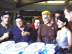 Voyager 100th Episode Party: I love everything about this, lol!