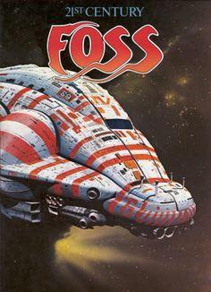 Chris Foss - 21st Century Foss, 1979.