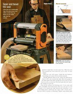 Wood Bench Plans - Furniture Plans