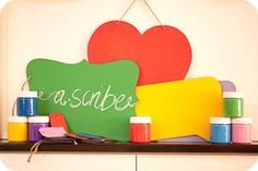 Colour Chalkboard Paint