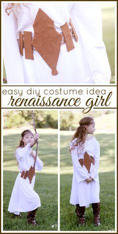 diy costume idea - -  belt - - for a renaissance girl