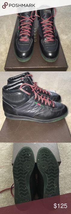 f6db5ea9bac Gucci Sneakers (Men) Hi-Top Men Gucci Sneakers. Still in pretty good