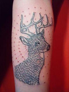 #Deer Tattoos