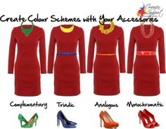 create colour schemes with accessories