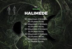 Challenge May Day 9 A-HALIMEDE