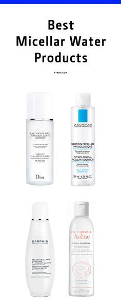 Why everyone should start washing their face with micellar water products