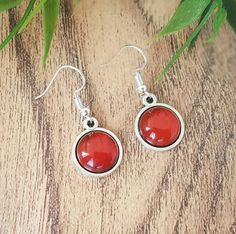 Check out this item in my Etsy shop https://www.etsy.com/uk/listing/523912247/red-agate-earrings-prom-jewelry-drop